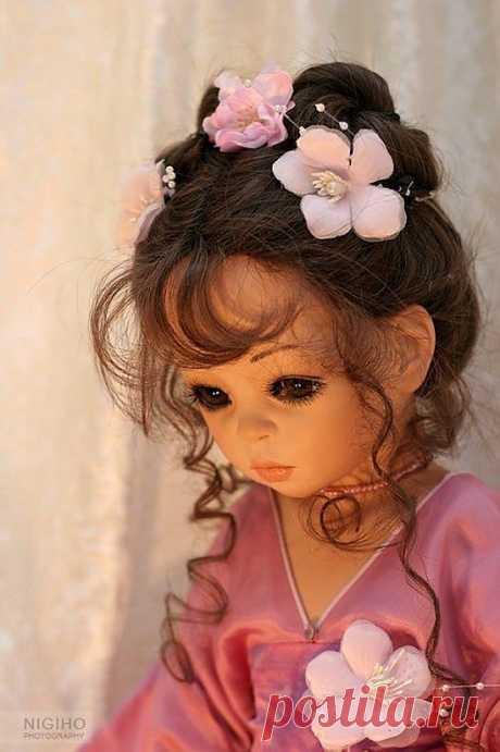 кукла художницы Сью Линг Ванг. Германия