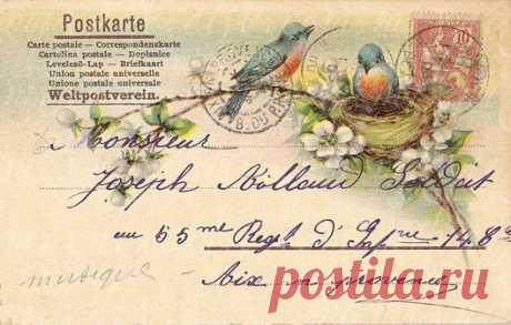 Старинные открытки..