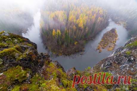 Река Ивдель, Северный Урал. Автор фото — Екатерина Васягина: nat-geo.ru/photo/user/38484/