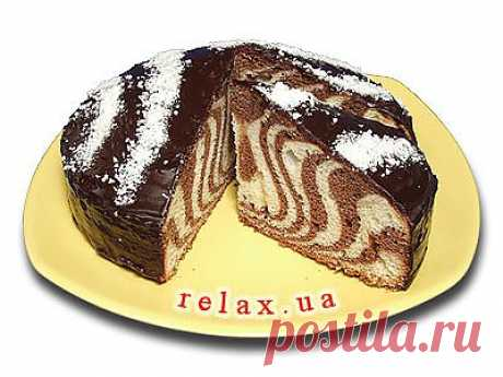 Торт «Зебра» » Рецепт, фото торта Зебра » Relax.UA