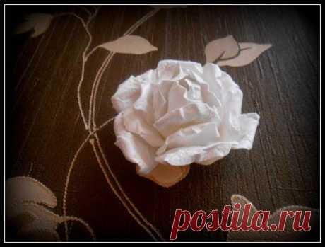 Изумительный handmade: Розы из акварельной бумаги | Мода
