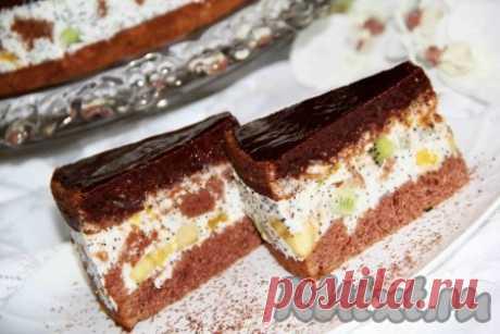 """Торт """"Африканская ромашка"""" Торт """"Африканская ромашка""""   Хочу поделиться замечательным рецептом торта с интересным названием """"Африканская ромашка"""". Выглядит очень эффектно, состоит из шоколадных коржей и нежной прослойки из смет…"""