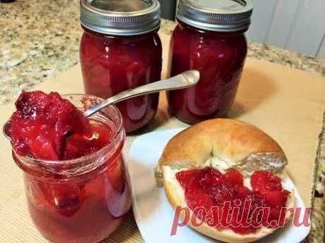КЛУБНИЧНЫЙ ДЖЕМ на зиму за 20 минут.  Аромат и вкус свежих  ягод круглый год.   Strawberry jam