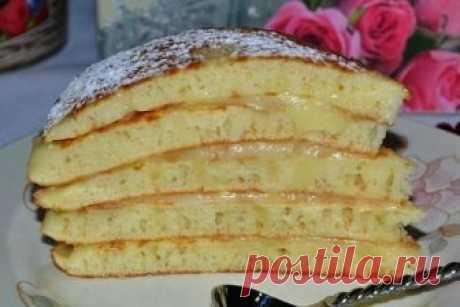 Замечательный тортик без духовки из наливного теста «Пушинка» Такой десерт можно приготовить где угодно, даже на даче!