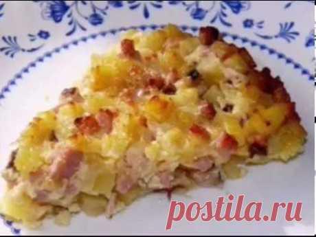 Крестьянский завтрак           Вот так крестьяне раньше баловались! Мне тоже по душе такая вкуснятина!   Ингредиенты:       - картофель   - вареное мясо или колбаса   - яйца куриные   - сметана или майонез   - соль, перец…