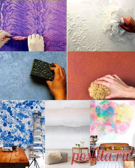 Оригинальные решения для покраски стен — Роскошь и уют