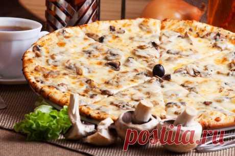 """Пицца """"Порчини"""" - Бабушкины рецепты"""