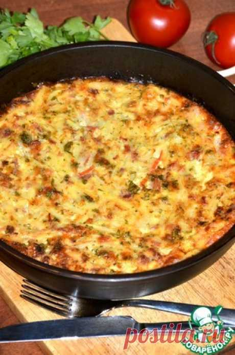 Пикантный гратен с тунцом - кулинарный рецепт
