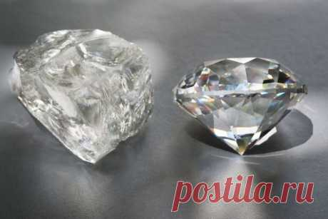 Алмаз и бриллиант: в чем разница и чем отличаются понятия, что дороже и лучше, превращение в украшение, фото