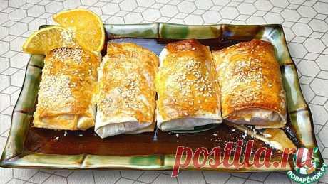 Морковные пирожные в лаваше Кулинарный рецепт