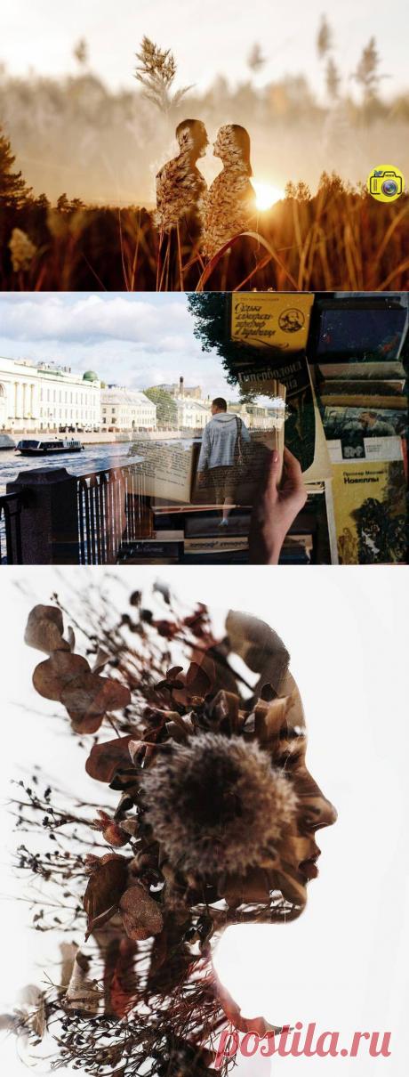 Мультиэкспозиция в фотографии. Просто о сложном | ФОТОBLOG | Яндекс Дзен