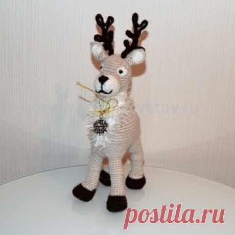 Зимние вязаные игрушки - новогодние подарки детям!