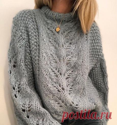 Уютные свитера на осень со схемами   Вязаные истории   Яндекс Дзен