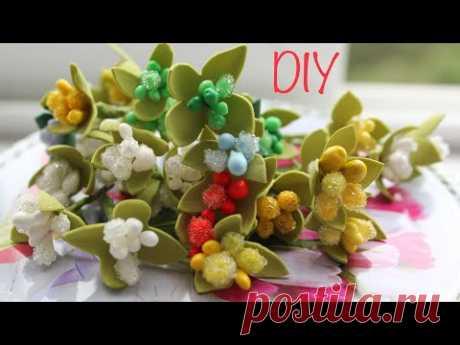 Как сделать Тычинки / DIY Flower Stamens - YouTube