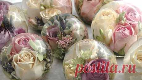 Business: Flowers in glycerin - how to start from scratch