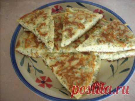 Мгновенный -хачапури на сковороде : Выпечка несладкая