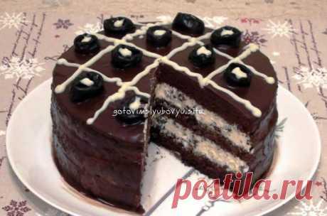 """Торт с черносливом """"Шоколадное наслаждение"""" - Готовьте с Любовью - gotovte s lyubovyu.ru.com"""