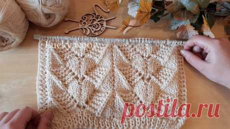 Узор спицами для вязания пуловера, джемпера, свитера и не только. Схема + описание + видео. | Вяжем с Татьяной LW | Яндекс Дзен