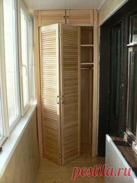 Хорошие идеи для маленького балкона