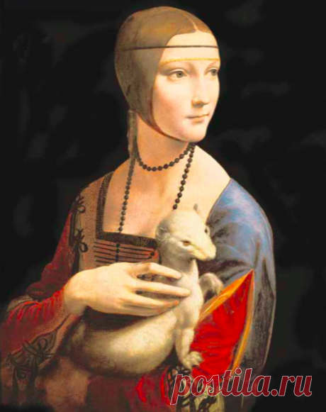 Зверек для вдохновения Леонардо