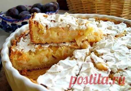 Идеальный пирог — ни убавить ни прибавить! Роскошный яблочный вкус в сочетании с нежным сметанным кремом Простой и безумно вкусный!