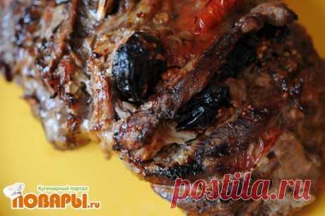 Рецепт мяса. Свинина с черносливом.