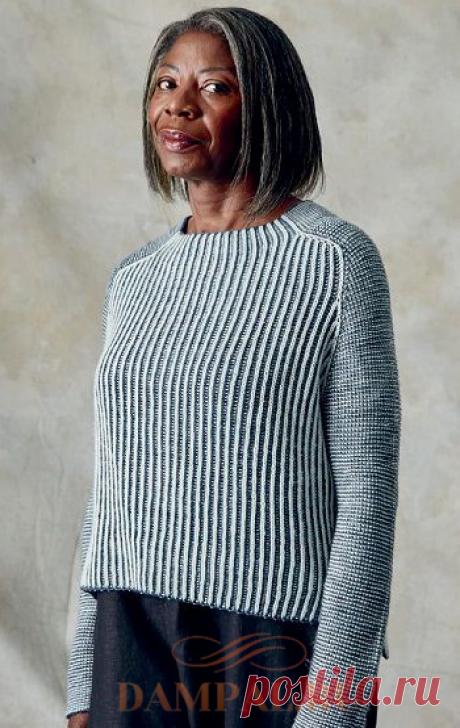 Вязаный пуловер «Luna» | DAMские PALьчики. ru