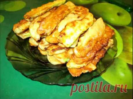Кабачки в кляре на сковороде - рецепты с чесноком, сыром, майонезом, фаршем