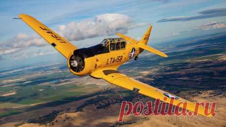 Фото North American T-6 (N158JZ) - FlightAware