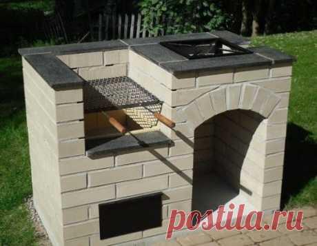 Если на даче остались лишние бетонные блоки. Идея!