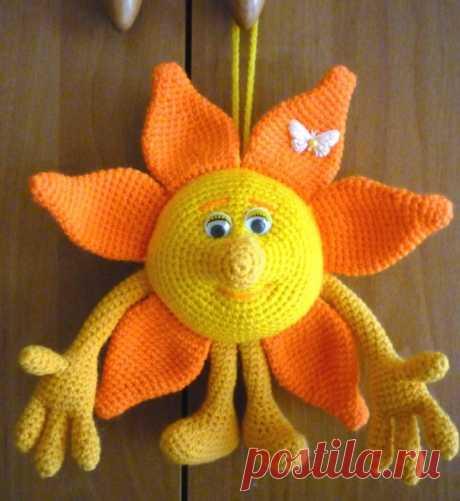 Вязаное солнышко
