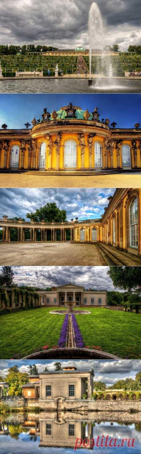 Версаль в Потсдаме | УДИВИТЕЛЬНОЕ