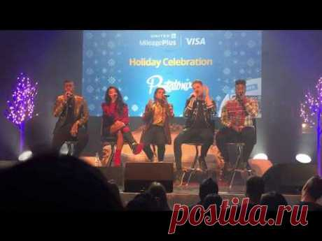 "Pentatonix ""Hallelujah"" LIVE  -  Holiday Concert in Chicago (Up Close View) - YouTube"