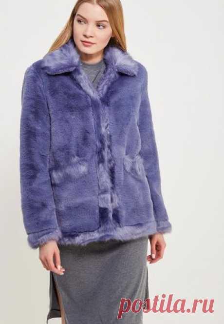Шуба LOST INK DOUBLE FUR COLLAR COAT купить за 4 240 руб LO019EWZUT35 в интернет-магазине Lamoda.ru