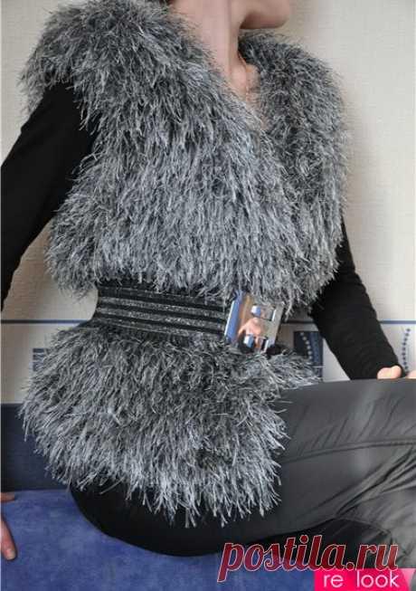 Вязаный мех: стильно и модно!: Мода и стиль - мода на Relook.ru