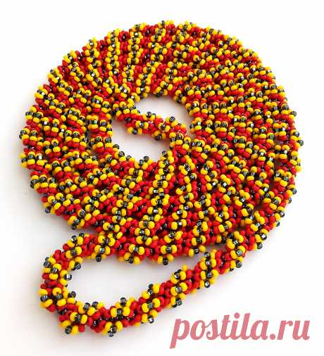 Garland pour | biser.info - all about beads and beaded creativity