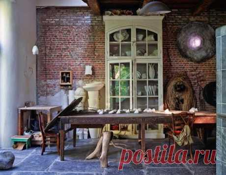 Необыкновенный дом бельгийской художницы — Роскошь и уют