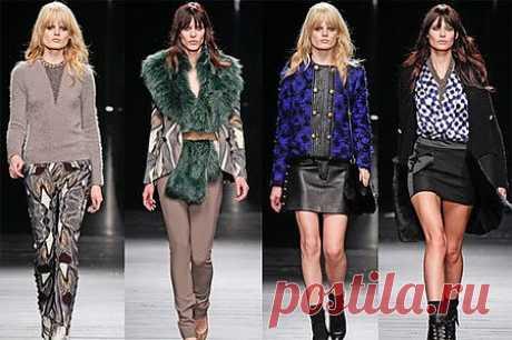 Женская мода осени 2013 года | Полезный сайт добрых советов