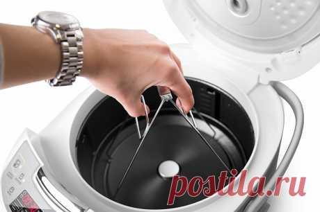Как отмыть мультиварку?