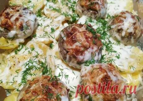 (2) Ужин с фаршированными шампиньонами - пошаговый рецепт с фото. Автор рецепта Екатерина Nyamka . - Cookpad