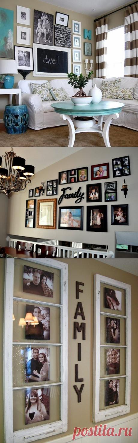 Идеи для домашней фотогалереи — Pro ремонт