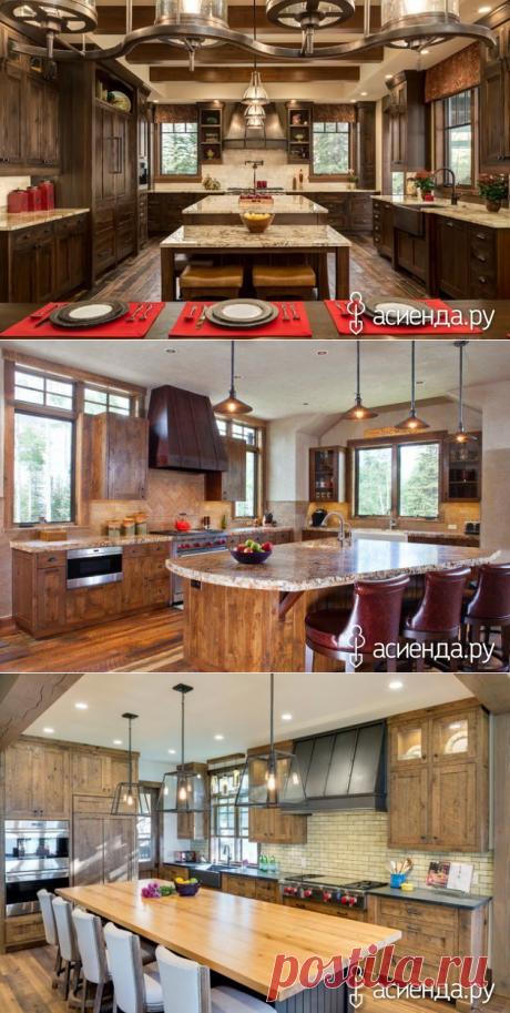 16 прекрасных идей кухни в деревенском стиле: Группа Ремонт, дизайн и интерьер дома