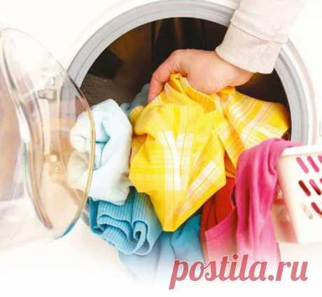Добавь это в стиральную машинку с вещами где пятна, и поразишься результату! - interesno.win