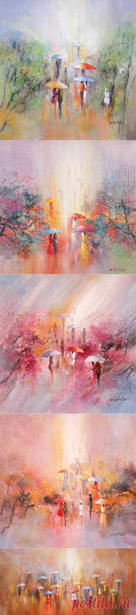Живопись художника W.Yong Jion, Корея