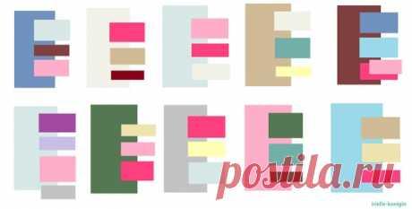 #спальня #цвет Цветовая палитра играет важную роль в декоре спальни, ведь именно цвет влияет на атмосферу и настроение интерьера. Мы выбрали 10 лучших палитр, которые помогут вам сделать спальню еще уютнее