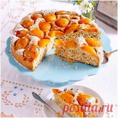 Наконец-то дождались! Любимые рецепты летней выпечки - абрикосовый пирог | Другая Кухня /Дневник фудблогера | Яндекс Дзен