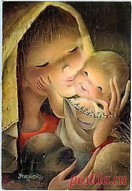 Мать и дитя: 50 художественных произведений | Блоги Мам