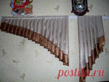 Technology of processing of a jabot with a dotachka: we sew curtains