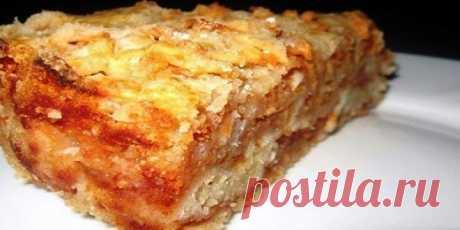 Самый вкусный сыпучий пирог с яблоками. Хит моей свекрови! Готовить проще простого  Ингредиенты Тесто:— 1 стакан муки— 1 стакан сахара— 1 стакан манки— 1 пакетик разрыхлителя (сода не подойдет!)— 1/2 пакетика ванильного сахара Начинка:— 1,5 кг — кисловатые яблоки  Рецепт приготовле…