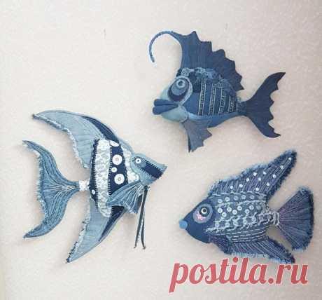 """""""Джинсовые рыбки: Коралловый Риф"""","""
